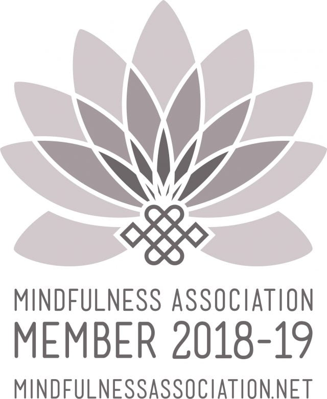 Mindfulness Association membership logo, 2018 to 2019
